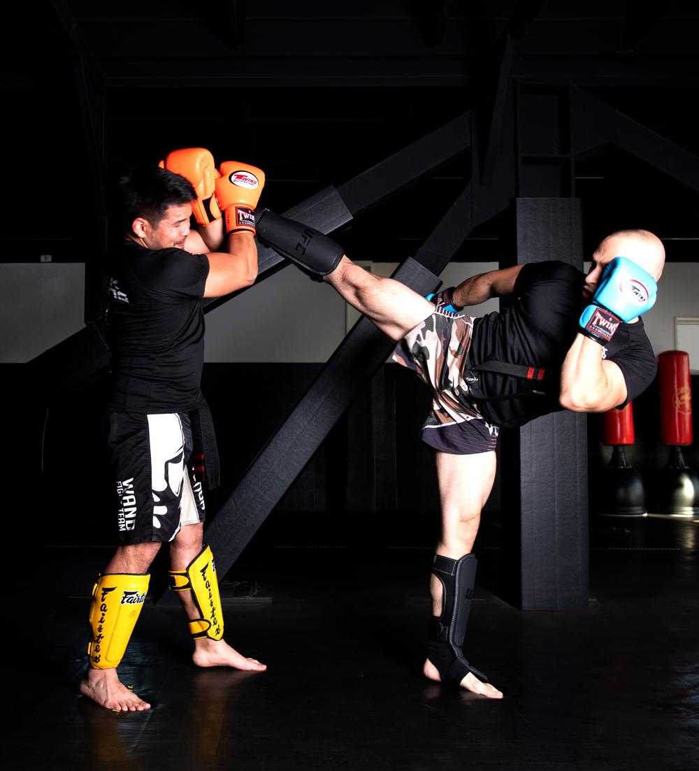 kick boxing mario calvo